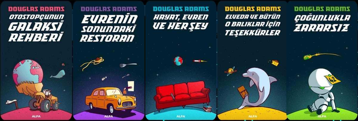 Douglas Adams – Hitchhiker's Guide to the Galaxy Serisi